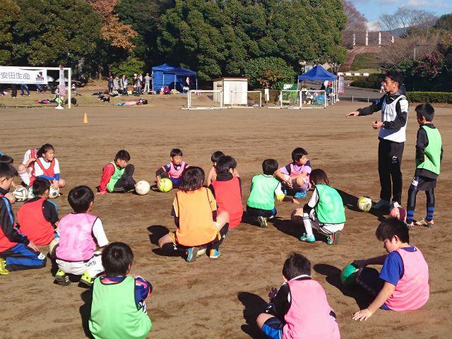 20151219明治安田サッカー教室2