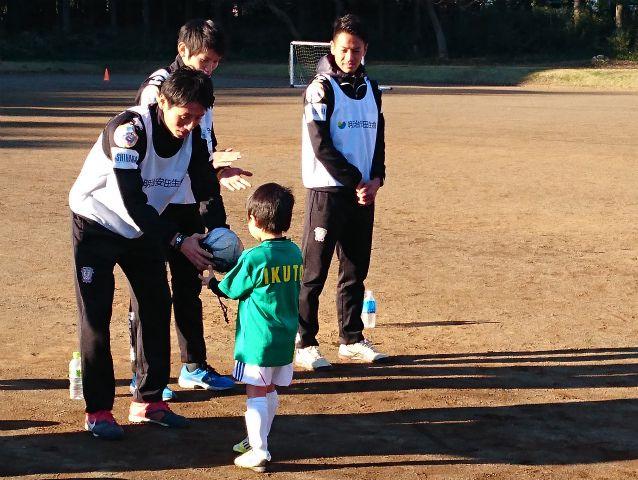 20151219明治安田サッカー教室4