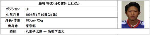 藤崎選手加入